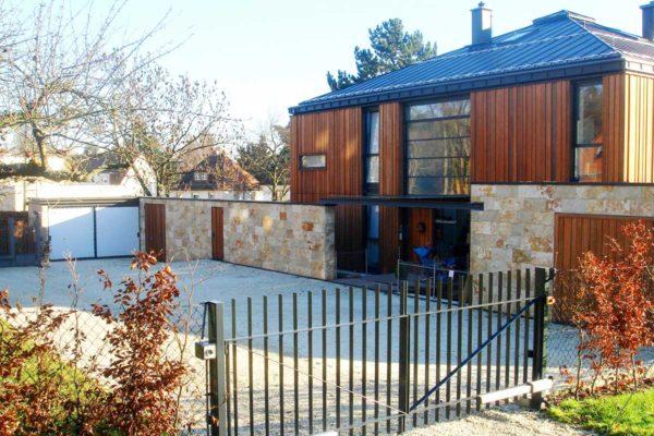 Haus TRM G45 Zufahrt